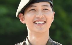 Ngôi sao màn ảnh Hàn Quốc - Song Joong Ki chính thức xuất ngũ
