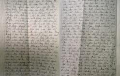 Bức thư từ trại giam và nước mắt hạnh phúc của đôi vợ chồng già