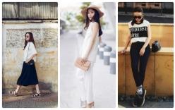 Giải trí - Học lỏm phong cách thời trang xuống phố của sao Việt