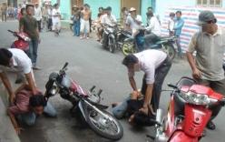 Bắt 2 đối tượng liều lĩnh cướp giật ngay trên phố