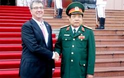 Bộ trưởng Phùng Quang Thanh hội đàm với Bộ trưởng Quốc phòng Mỹ