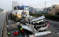 Clip: Tai nạn giao thông kinh hoàng, 5 người chết