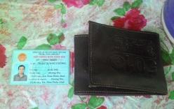 Cháy nhà, phát hiện giấy tờ đã mất nằm trong chiếc ví lạ