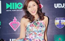 Hoa hậu Đặng Thu Thảo khoe sắc đẹp nền nã với đầm hoa dịu dàng