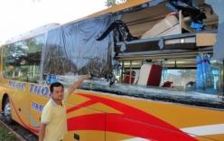 Đã xác định được đối tượng ném đá hàng loạt xe khách tại Kon Tum