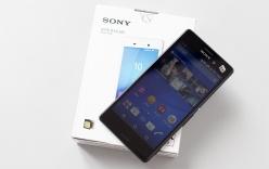 Đập hộp Sony Xperia M4 Aqua chống nước vừa lên kệ tại Việt Nam