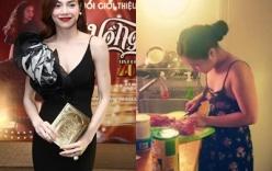 Facebook sao Việt: Hà Hồ giới thiệu DVD 2014, Hương Tràm vào bếp nấu ăn