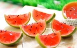 Cách làm thạch rau câu hoa quả thơm mát xua tan cái nóng ngày hè
