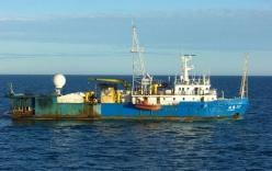 Tàu thăm dò dầu khí Trung Quốc xuất hiện gần bờ biển Bình Thuận