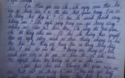 Lá thư xúc động gửi em gái sắp thi vào lớp 10 dậy sóng mạng