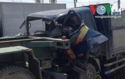 Tai nạn nghiêm trọng, tài xế mắc kẹt trong cabin