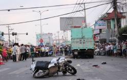 Tai nạn nghiêm trọng, ba công nhân đi xe máy tử vong tại chỗ