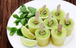 Cách làm kem kiwi thanh mát giải nhiệt mùa hè tại nhà