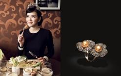 Lý Nhã Kỳ tổ chức triển lãm kim cương tại dinh thự riêng
