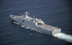 Ảnh vệ tinh: Trung Quốc đưa tàu chiến tới Đá Vành Khăn