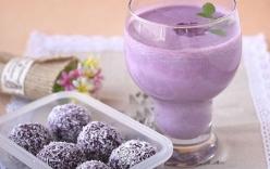 Cách làm sinh tố khoai môn ngon ngọt mát lạnh trong mùa hè