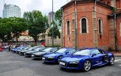 Vì sao Audi đưa 8 siêu xe R8 về Việt Nam?