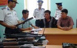 Cảnh sát biển bắt giữ lô súng