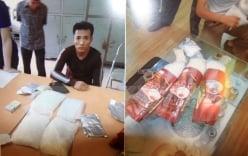 Bắt đối tượng vận chuyển ma túy và vũ khí nóng từ Lào về Việt Nam