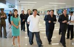 """Kim Jong-un """"khoe"""" nhà ga sân bay mới có đài phun sô cô la"""