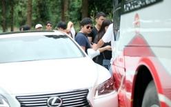 Xe Lexus chở Quang Lê gây tai nạn ở Sapa
