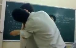 Cưỡng hôn bạn gái giữa lớp học, nam sinh bị đánh bầm mặt