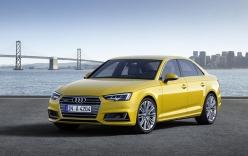 Audi A4 thế hệ mới: tiết kiệm xăng, tiện lợi hơn