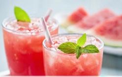 Nước uống chống say nắng hiệu quả