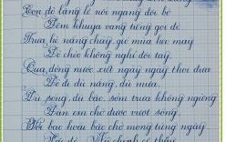 Video: Cô giáo trẻ viết lời chúc sĩ tử bằng chữ ngược gây sốt
