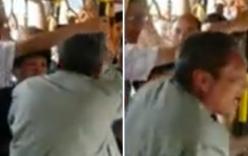 Video: Nữ hành khách tát tới tấp khiến kẻ móc túi xe buýt hoảng sợ