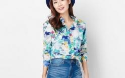 Các kiểu áo sơ mi nữ đẹp bạn gái nên sở hữu