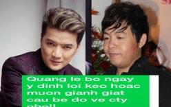 Đàm Vĩnh Hưng công bố tin nhắn mà Quang Lê cho là