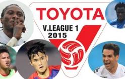 Lịch thi đấu, kết quả vòng 14 V-League 2015: HAGL tiếp Hải Phòng
