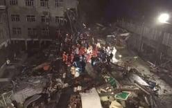 Trung Quốc: Nhà máy bất ngờ đổ sập, 9 người tử vong