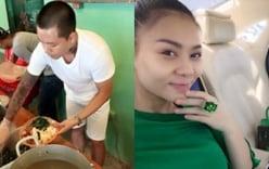 Facebook sao Việt: Tuấn Hưng giản dị đi từ thiện, Thu Minh khoe nhẫn siêu bự