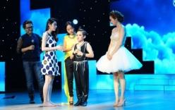 BNHV nhí 2015: Thí sinh nhí khóc trên sân khấu khiến giám khảo bối rối