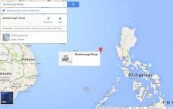 Google loại tên Trung Quốc khỏi bãi cạn tranh chấp với Philippines