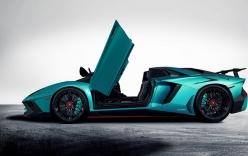 Hé lộ siêu xe Lamborghini Aventador LP750-4 SV Roadster 2017