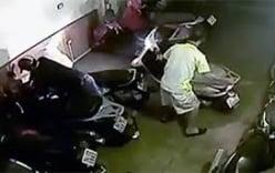 Trộm bẻ khóa, lấy xe Lead chỉ trong 5 giây