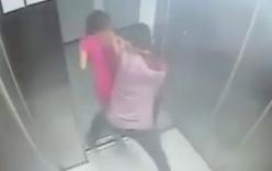 Loạt video thiếu nữ bị cướp giật trắng trợn trong thang máy