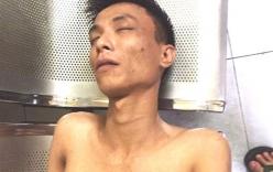 Thanh niên khỏa thân, cầm kéo gây náo loạn phố Hà Nội ngộ độc ma túy