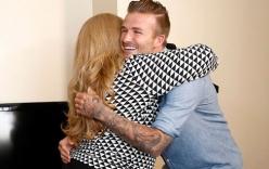 Beckham khiến gia đình nghèo ở Mexico cảm động đến phát khóc