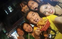 Facebook sao Việt: Mr Đàm nhí nhố cùng học trò, Kim Hiền ra viện sau sinh