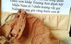 Ống tay áo thần kỳ dưới ngôi mộ của người liệt sỹ trẻ