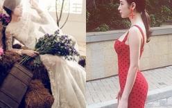 Facebook sao Việt: Angela Phương Trinh diện váy đỏ gợi cảm, Tú Linh hóa cô dâu