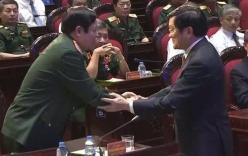 Video Đại tướng Phùng Quang Thanh dự chương trình truyền hình trực tiếp kỷ niệm ngày 27/7