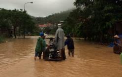 Cảnh tượng ngổn ngang sau trận mưa lụt lịch sử ở Quảng Ninh
