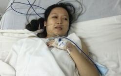 Em bé sinh non vì mẹ bị ung thư máu đã qua đời