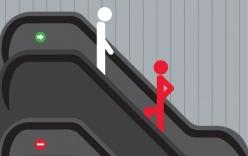 Nguyên tắc an toàn cho trẻ đi thang cuốn cha mẹ cần thuộc lòng