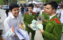 Điểm sàn vào các trường khối Công an, Quân đội